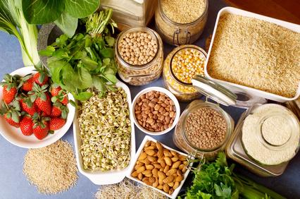Food - Rice, Beans, Fruit, Nuts