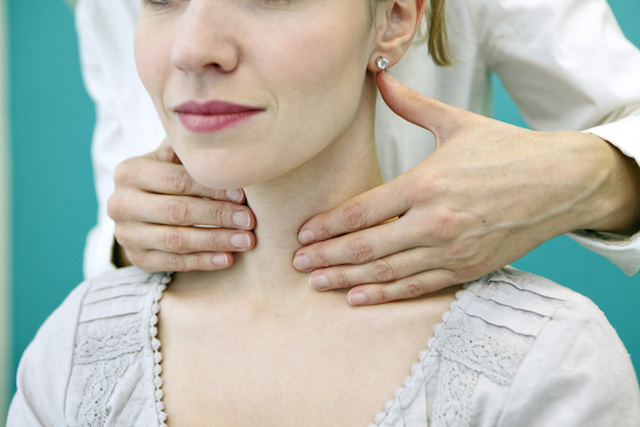 People - Woman - Thyroid Check