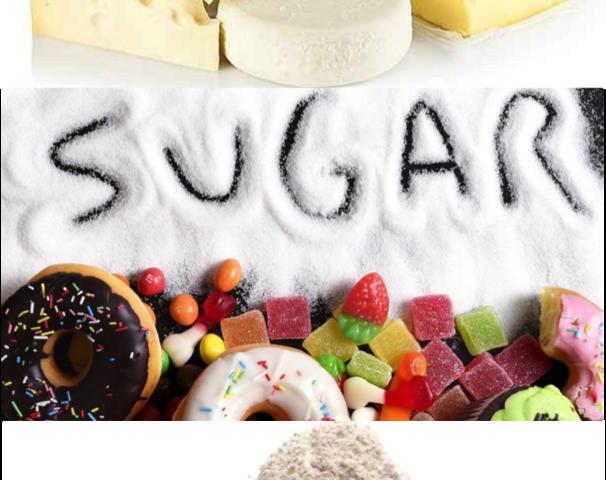 Food - Dairy, Sugar, Flour