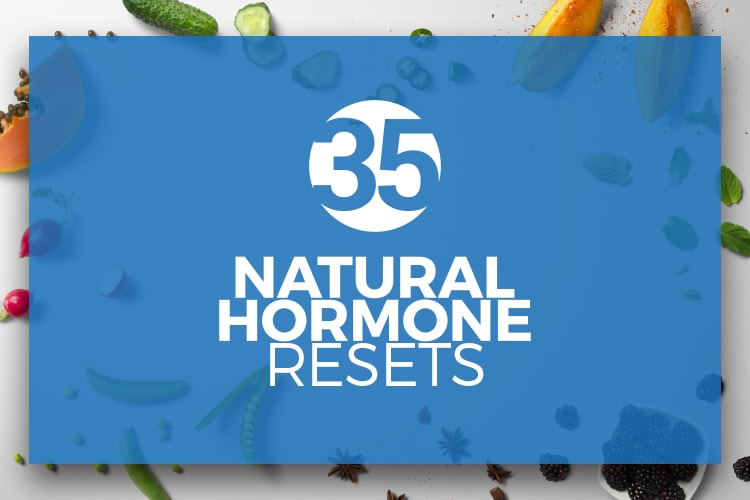 FREE ebook - 35 Natural Hormone Resets