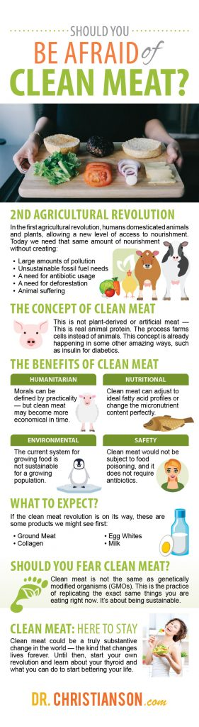 infographic can we grow meat in a lab