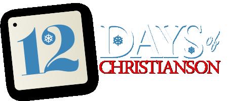 12 Days of Christianson Logo - Light