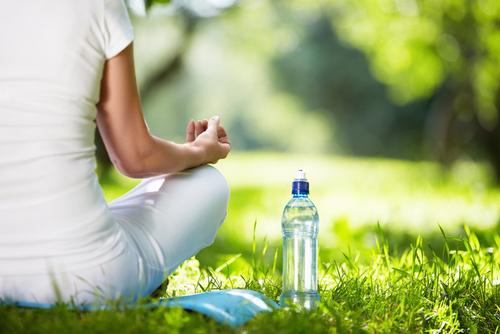 Meditation - plus water bottle
