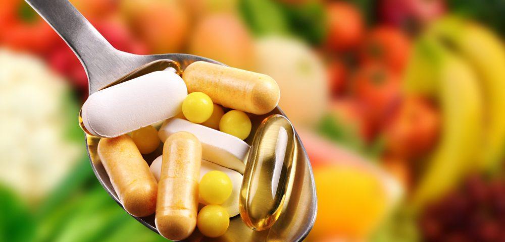supplements healthy veggies fruit