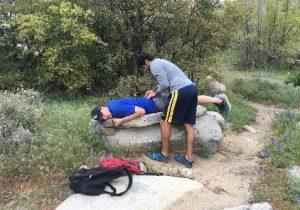 Dr. C hiking 2