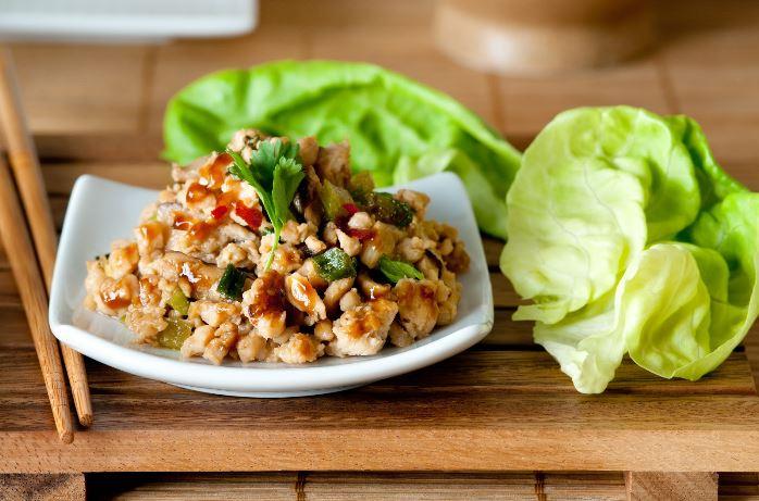 Food - Meals - Turkey lettuce wraps