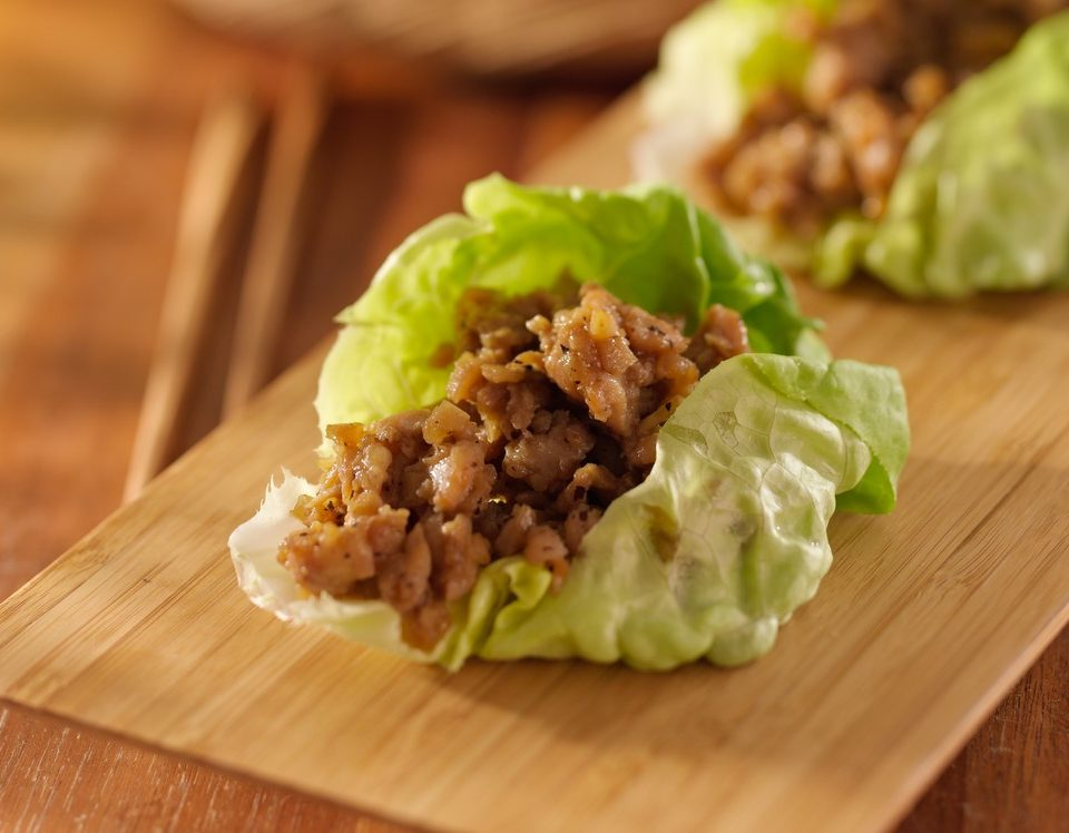 Adrenal Reset Diet - Healthy Turkey Lettuce Wraps