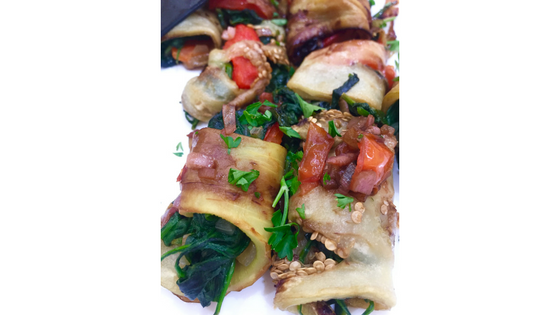 stuffed eggplant Adrenal Reset Diet