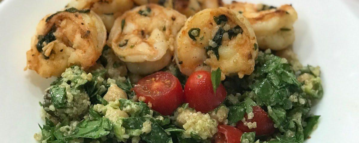Shrimp and Quinoa Salad