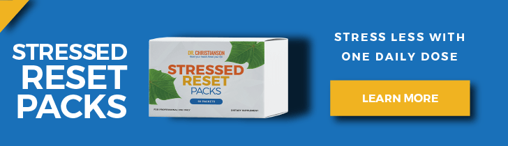 Stressed Reset Packs - Dr. Alan Christianson