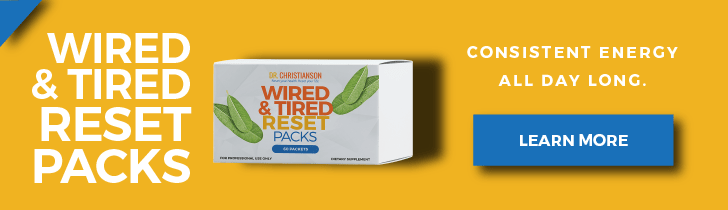 Wired & Tired Reset Packs - Dr. Alan Christianson