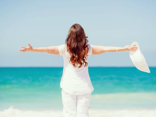 menopause-beach