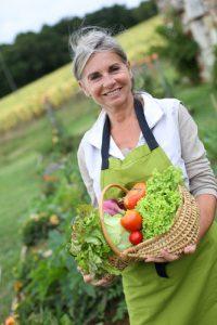 menopause-woman-garden