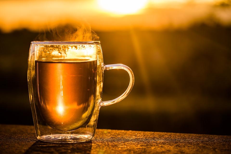 tea-sunset